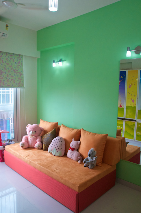 Residence at 4 Bungalows Eclectic style nursery/kids room by Design Kkarma (India) Eclectic