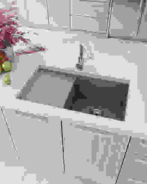 現代廚房設計點子、靈感&圖片 根據 A3D INFOGRAFIA 現代風