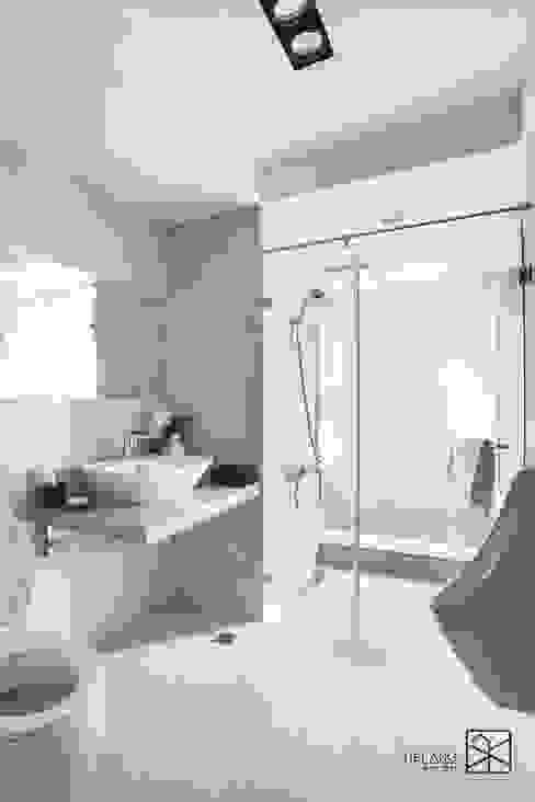 泡澡區 現代浴室設計點子、靈感&圖片 根據 禾廊室內設計 現代風