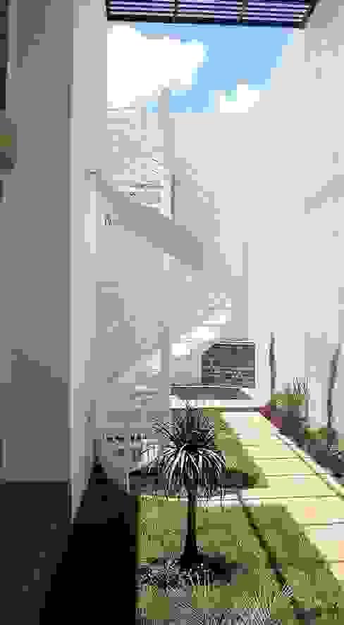 Casa RA de Víctor Díaz Arquitectos Moderno Hierro/Acero