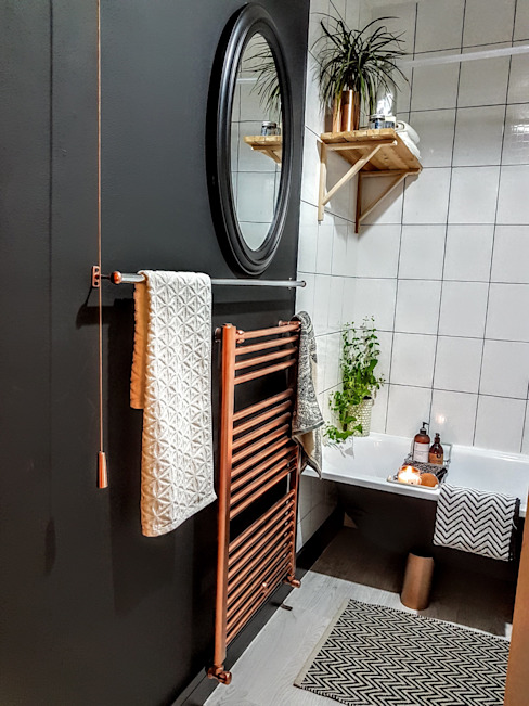 Bathroom makeover THE FRESH INTERIOR COMPANY Industrial style bathroom