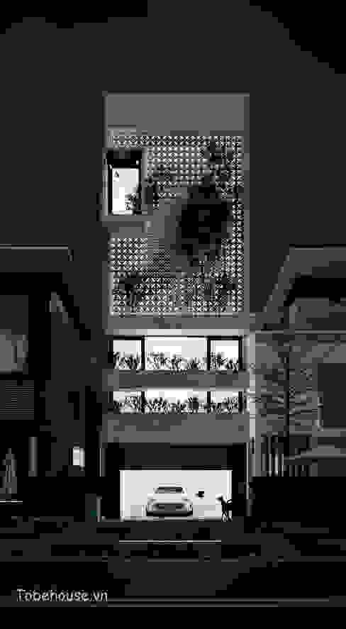 Casas modernas de Công ty cổ phần kiến trúc và nội thất Tobehouse Việt Nam Moderno