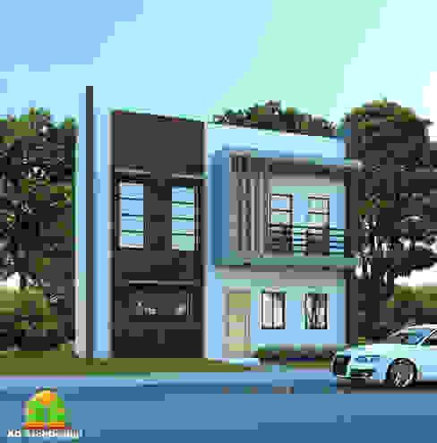 HOUSE EXTERIOR FACADE homify Modern home