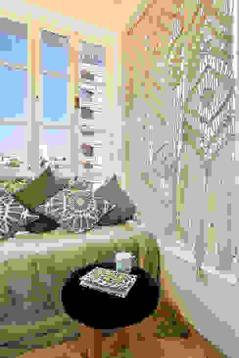Alcove SAGA Design 木頭窗 玻璃 White