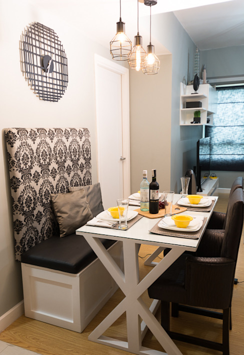 The Grove by Rockwell:  Dining room by TG Designing Corner