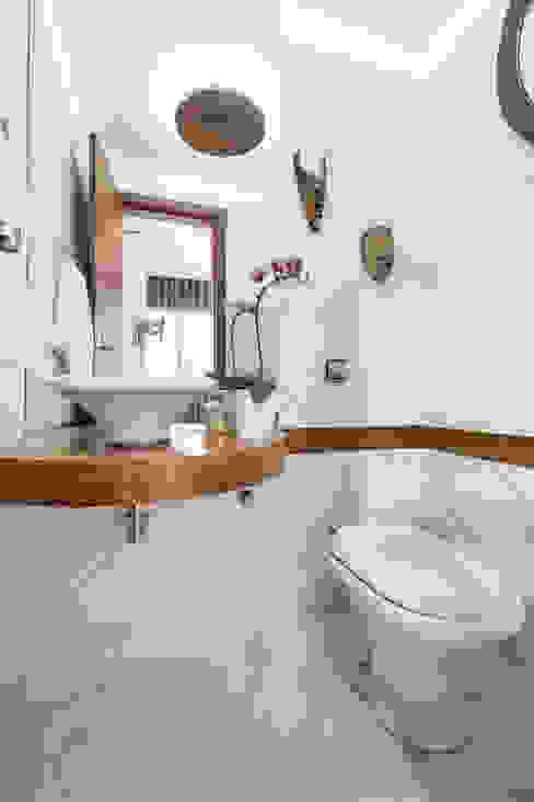 SDP00 | Lavabo Kali Arquitetura Banheiros rústicos