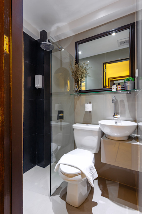Nest Nano Suites Condo Hotel in Makati by SNS Lush Designs and Home Decor Consultancy Asian