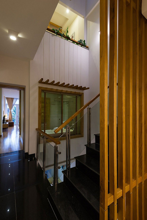 Corridor, hallway by Công ty TNHH Xây Dựng TM – DV Song Phát, Modern