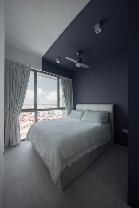 homify Minimalist bedroom Black