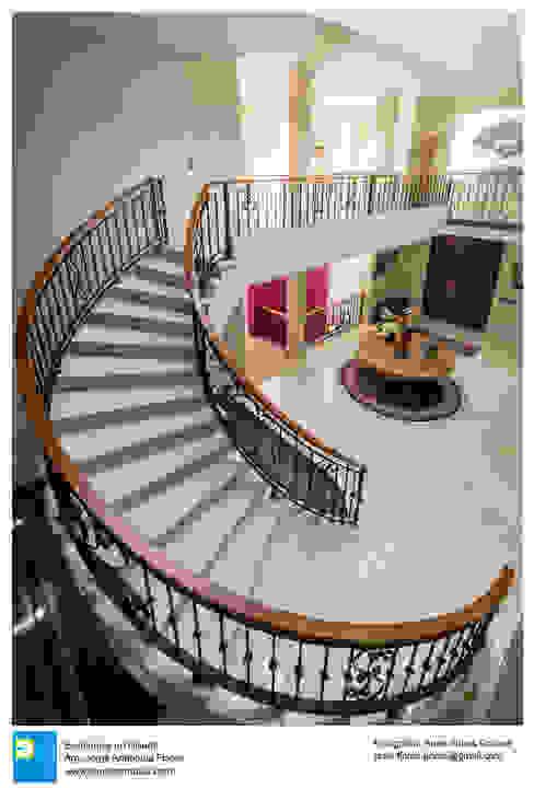 escalera de Excelencia en Diseño Colonial Mármol