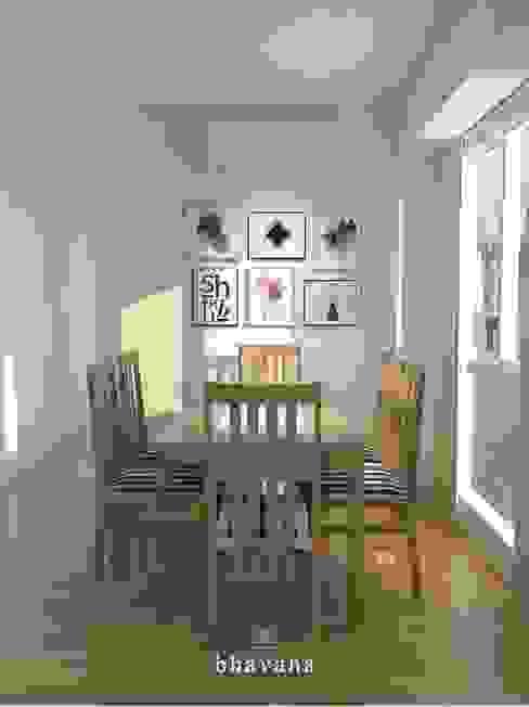 Scandinavian style dining room by Bhavana Scandinavian