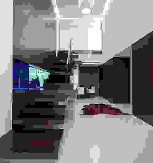 Marta House - Architecture: Risco Singular-Arquitectura Lda Arqº. Paulo Costa e Arqª. Sónia Abreu Risco Singular - Arquitectura Lda Escadas