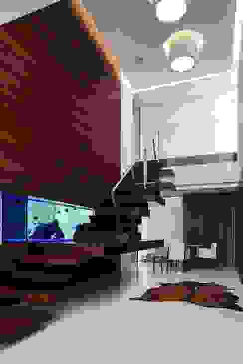 Лестницы в . Автор – Risco Singular - Arquitectura Lda, Минимализм