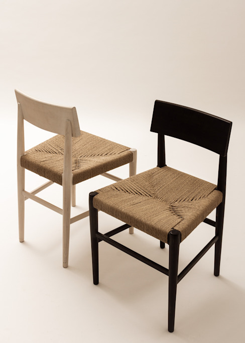 Rituales Contemporáneos Dining roomChairs & benches Parket Multicolored