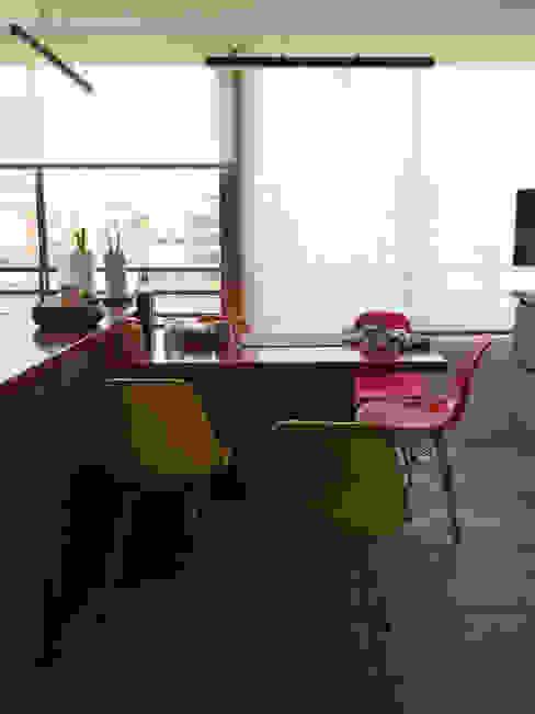 Penthouse Vitacura Cocinas de estilo moderno de NEF Arq. Moderno