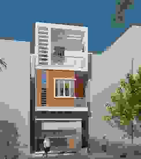 Công ty TNHH TK XD Song Phát Single family home Copper/Bronze/Brass Grey