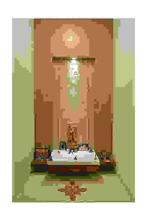 Puja room Modern walls & floors by Ineidos Modern