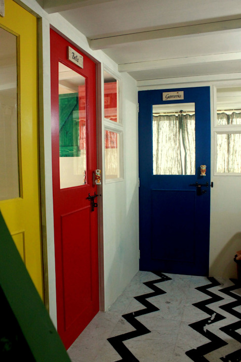 Co-Working Space - Zoomstart India - the first bohemian themed co-working space in India by Dezinebox Country
