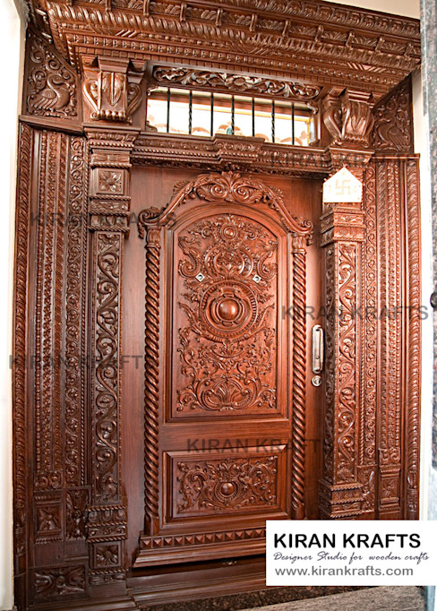 Doors Design: 10 Beautiful Door Designs For Traditional Indian Welcome