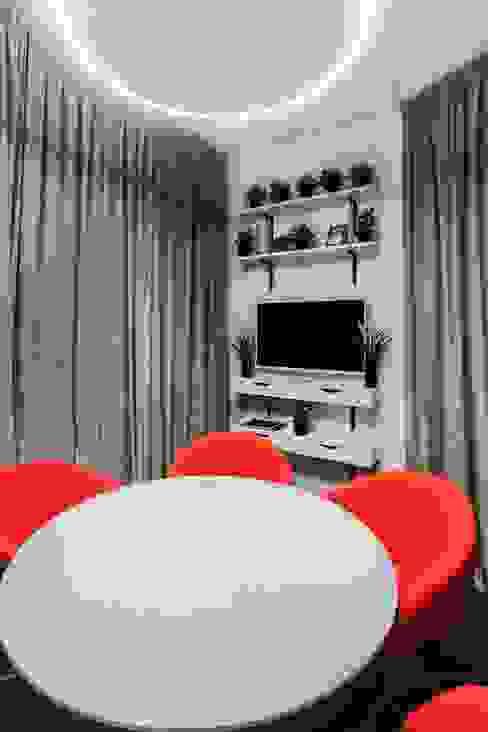 視聽室 by mlynchyk interiors