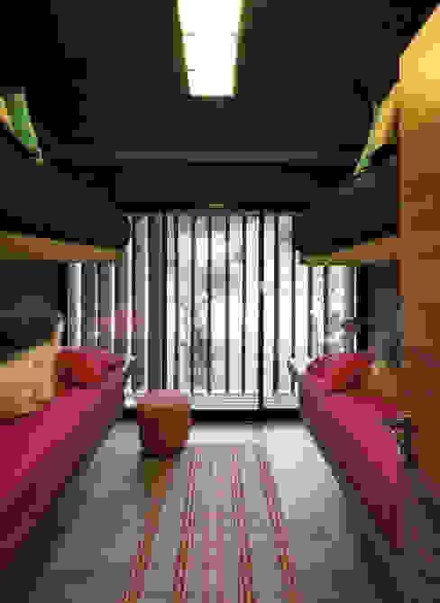 Dormitorios de estilo minimalista de Besonías Almeida arquitectos Minimalista Concreto