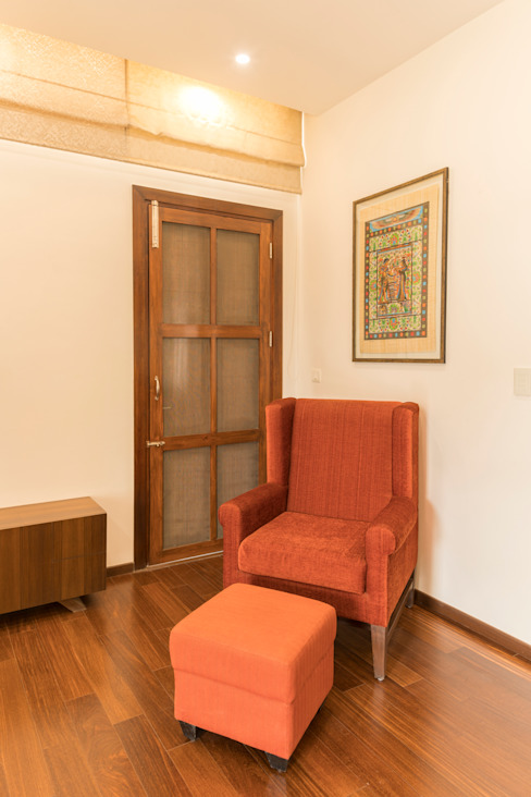 Relaxing area Modern style doors by homify Modern