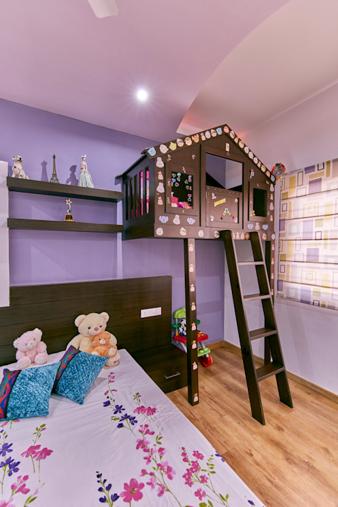 Display and play area Modern nursery/kids room by homify Modern