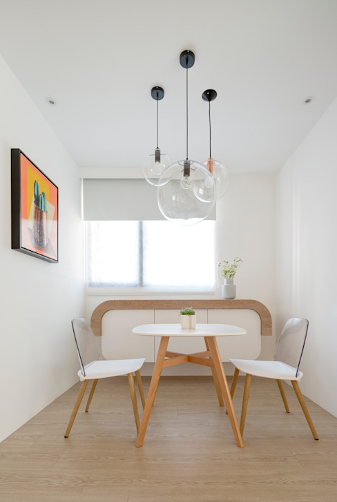 Dining room by 磨設計,
