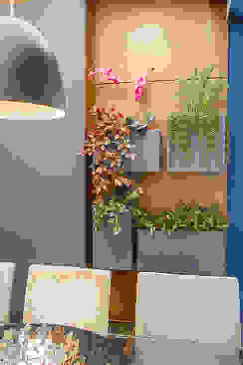 Sgabello Interiores Balconies, verandas & terraces Plants & flowers MDF Blue