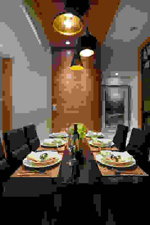 Comedores de estilo moderno de 雅和室內設計 Moderno