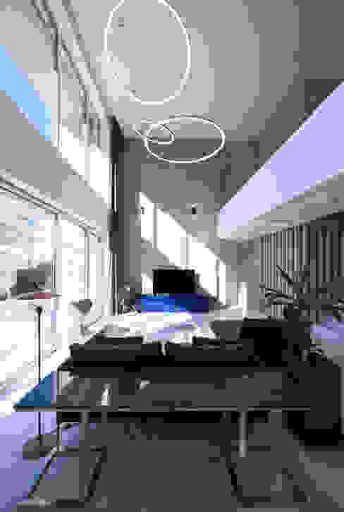 광주 서창동 1.4리터 패시브하우스 – 아들집: (주)자림이앤씨건축사사무소의  거실