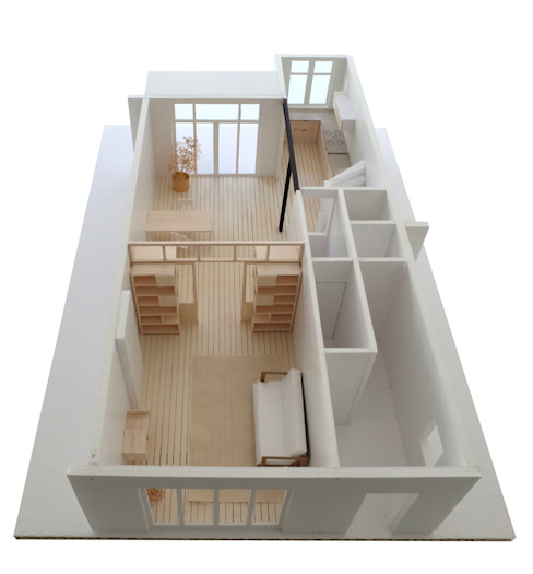 Kevin Veenhuizen Architects Modern Living Room