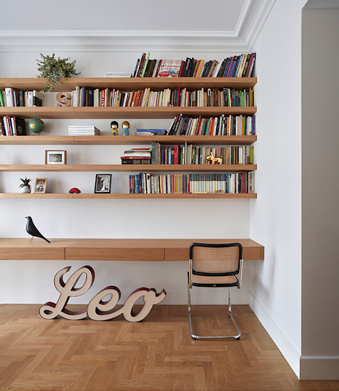 REFORMA INTEGRAL VIVIENDA ENSANCHE VALENCIA DG Arquitecto Valencia Comedores de estilo escandinavo