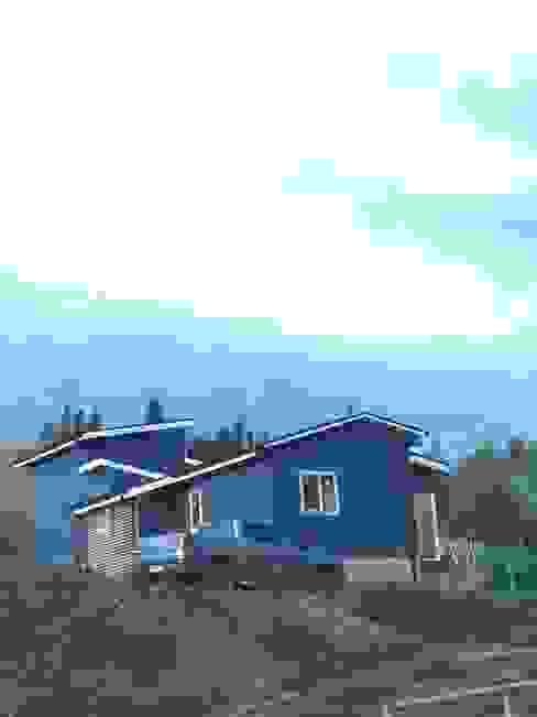 Maison individuelle de style  par homify, Rural Bois d'ingénierie Transparent