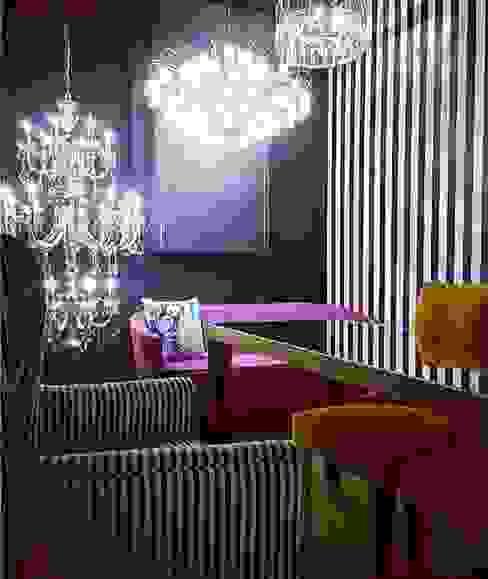 Khanna Jewellers's Studio Lighting Jainsons Emporio Modern offices & stores Glass Purple/Violet