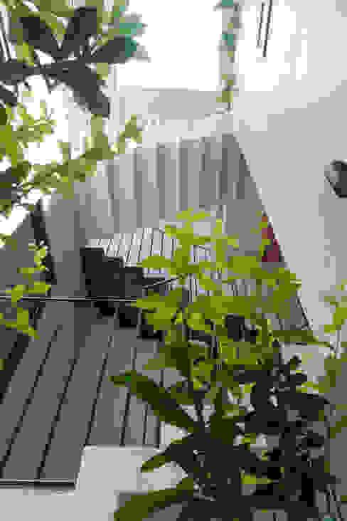 Các không gian đều thoáng và ngập tràn ánh sáng. bởi Công ty TNHH TK XD Song Phát Châu Á Đồng / Đồng / Đồng thau