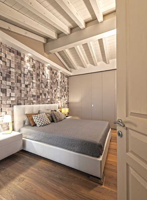 Bedroom by Studio Moltrasio - Zero4 Snc