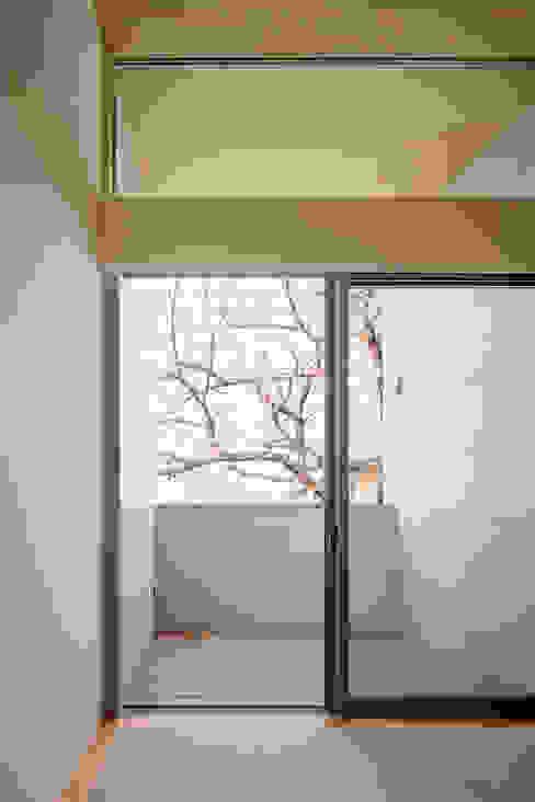 桜並木と暮らす家 ミニマルデザインの テラス の 設計事務所アーキプレイス ミニマル