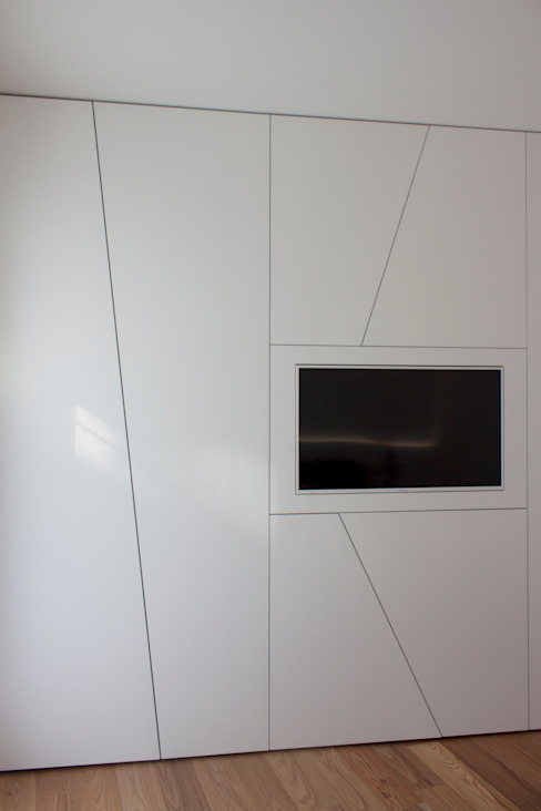 guardaroba Giemmecontract srl. Camera da letto minimalista Bianco
