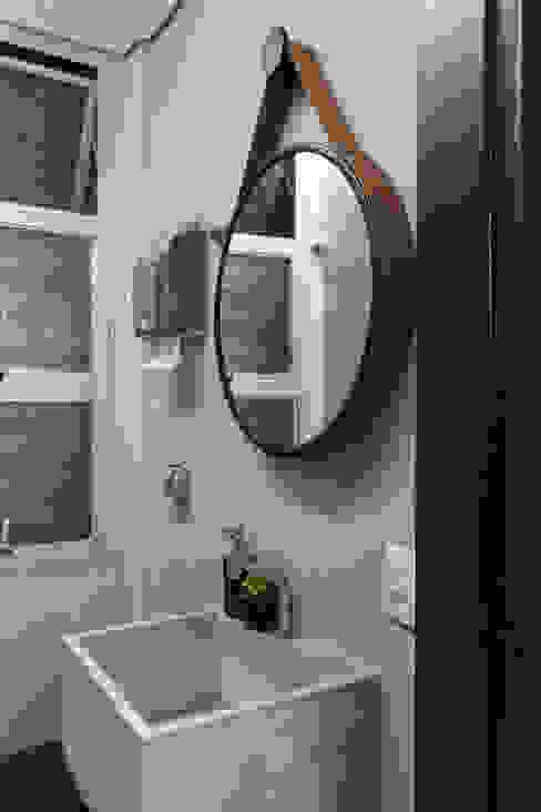 WC Sala de Espera Espaços comerciais modernos por Semíramis Alice Arquitetura & Design Moderno
