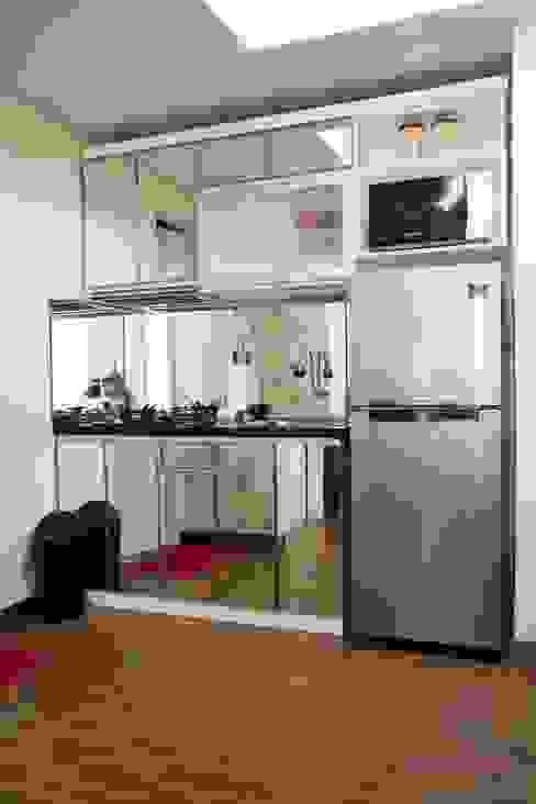 APARTEMEN MINIMALIS: Dapur oleh FIANO INTERIOR,