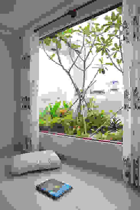 Cây xanh xuất hiện ở mọi nơi Công ty TNHH Xây Dựng TM – DV Song Phát Hiên, sân thượng phong cách hiện đại