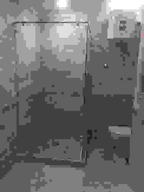 Vertex Design حمام زجاج Beige