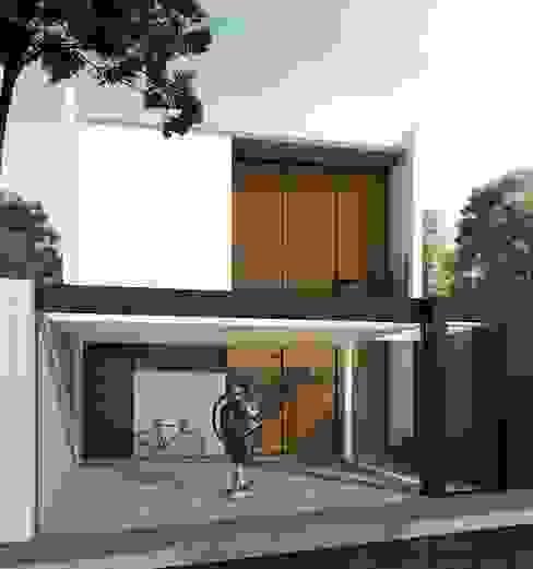 Sobrado Passos Bernardo Horta Arquiteto Casas modernas