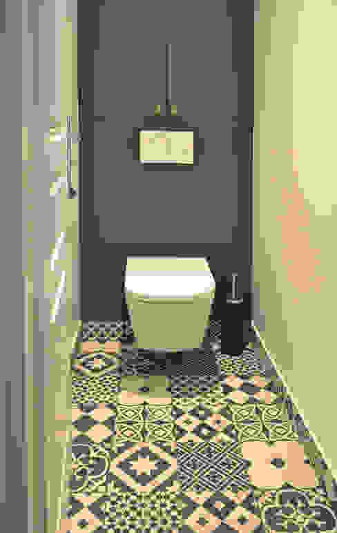Moderne badkamers van A comme Archi Modern
