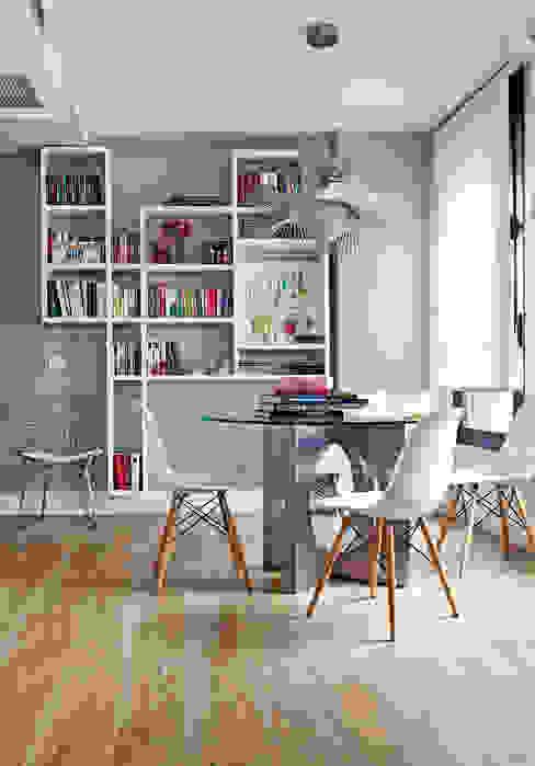 Lámpara suspendida color gris Luxiform Iluminación HogarAccesorios y decoración
