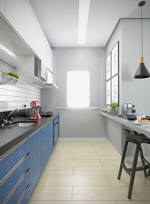 by Yasmin Giese Arquitetura e Interiores Modern MDF