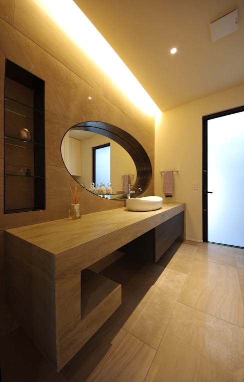 Modern bathroom by 株式会社seki.design Modern