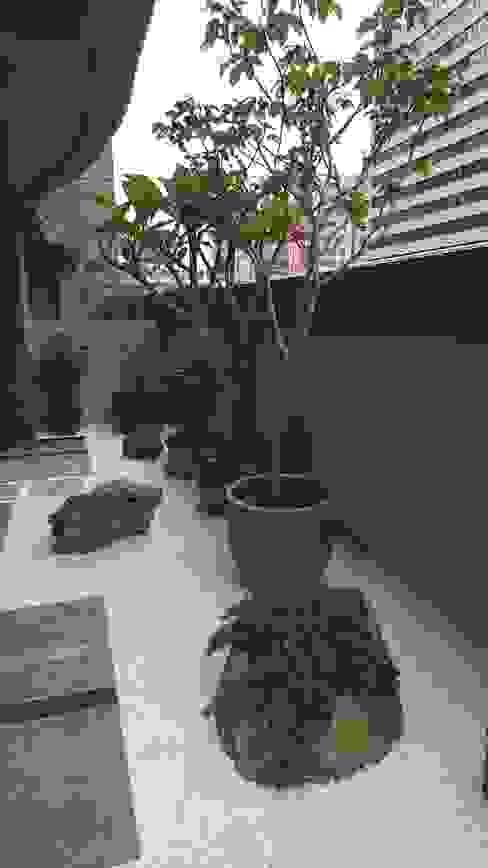 小陽台規劃 根據 大地工房景觀公司 古典風