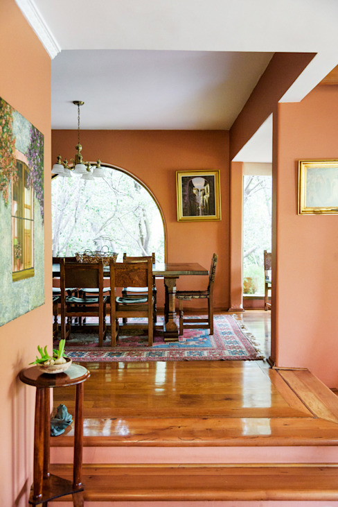 Hermoso Entorno · El Arrayán, Lo Barnechea, Chile Comedores de estilo moderno de Francisco Vicuña Balaresque Moderno